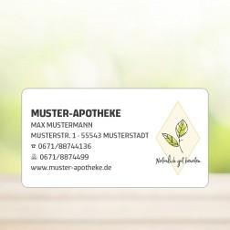 """Rollenetiketten/Schmucketiketten/Aufkleber """"Natürlich gut beraten"""" - personalisierbar -  (1.000 Stück)"""